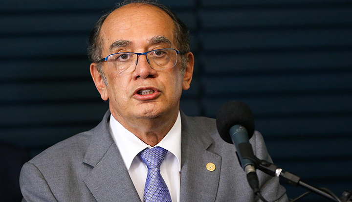Gilmar Mendes, presidente do TSE.