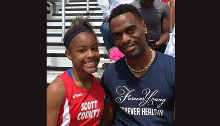 Filha de Tyson Gay é assassinada a tiros nos Estados Unidos