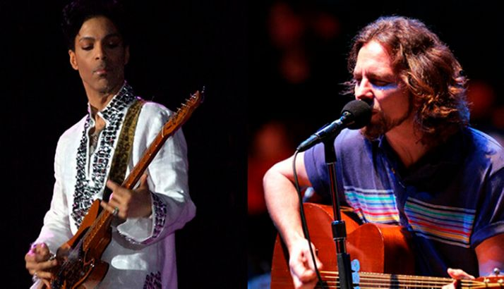 Prince ganhou cover de Eddie Vedder com o Red Hot Chili Peppers